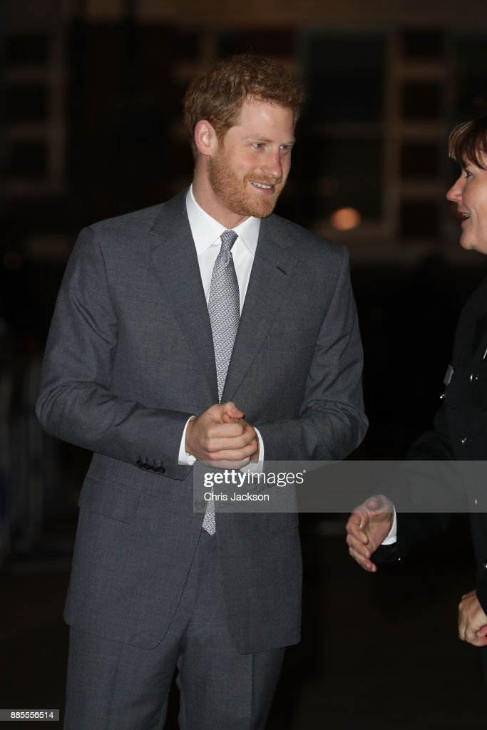 Prince Harry Attends The London Fire Brigade Carol Service