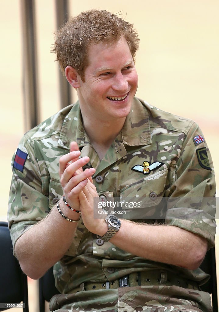Prince Harry Launches The Invictus Games : News Photo