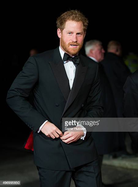 Prince Harry attends the Royal Variety Performance at Royal Albert Hall on November 13 2015 in London England