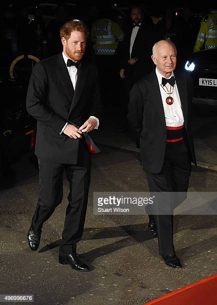 Prince Harry Attends The Royal Variety Performance at the Royal Albert Hall on November 13 2015 in London England