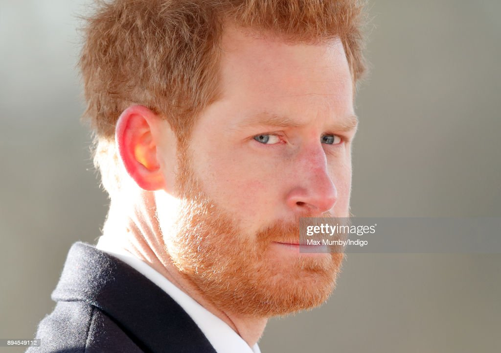 Prince Harry attends The Sovereign's Parade at the Royal Military Academy Sandhurst on December 15, 2017 in Camberley, England. The Sovereign's Parade takes place in the Old College Square at Sandhurst's Royal Military Academy at the end of each term and marks the passing out of Officer Cadets who have completed the commissioning course. Prince Harry graduated from the Royal Military Academy in 2006.