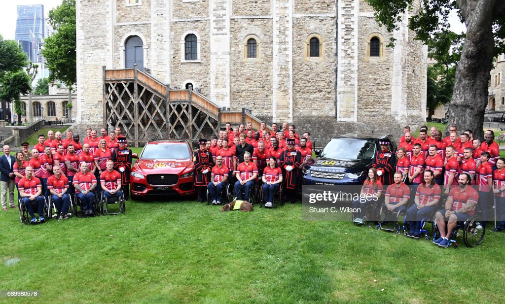Prince Harry Attends UK Team Launch For Invictus Games Toronto 2017 - Tower Of London : News Photo