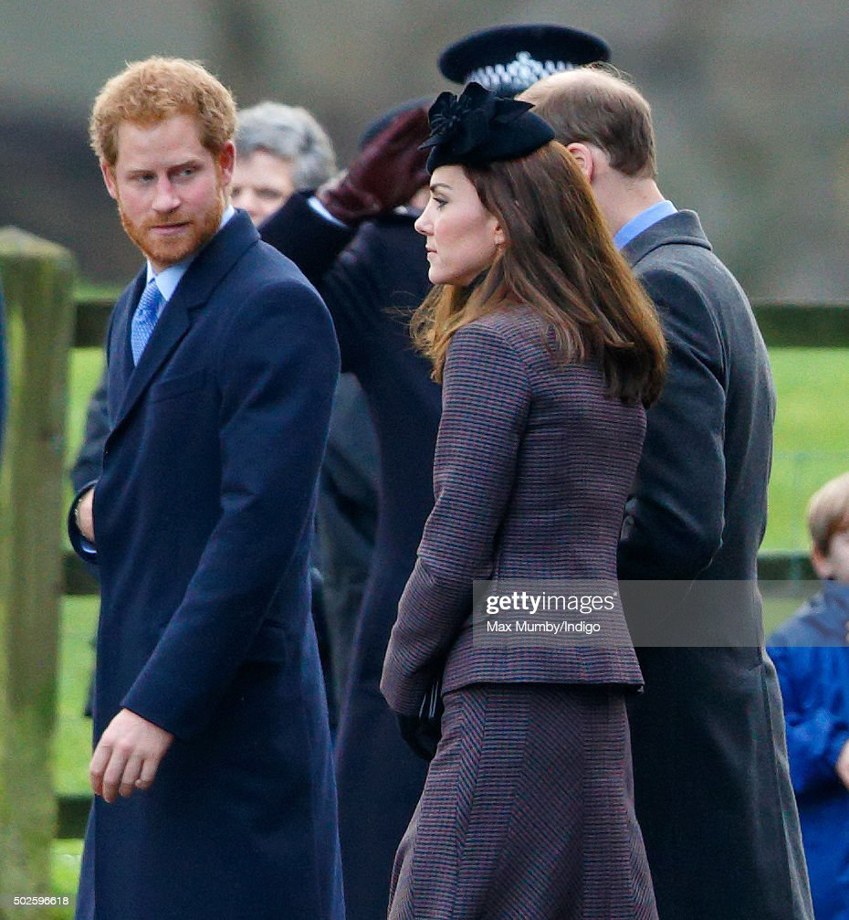 Queen Elizabeth II Attends Sunday Service At Sandringham : News Photo