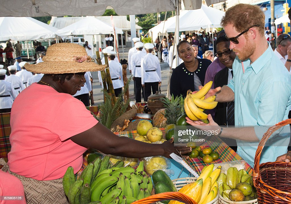 Prince Harry Visits The Caribbean - Day 6 : News Photo