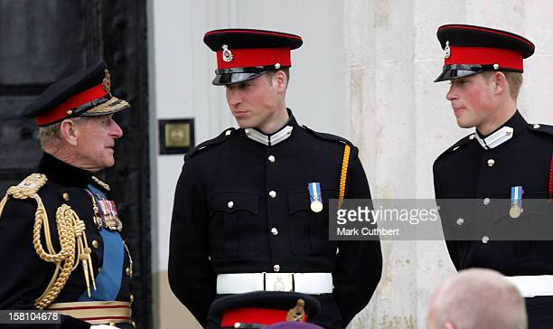 Prince Harry Commissioned As Second Lieutenant At His Passing Out Ceremony At The Sovereign'S Day Parade At The Royal Military Academy,...