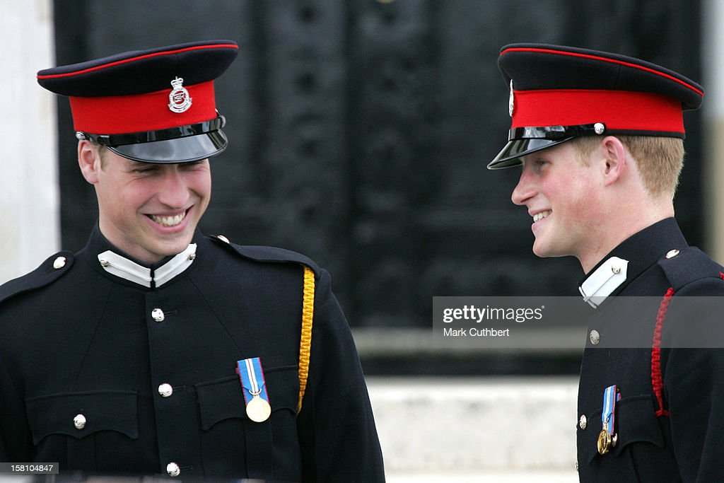 Prince Harry Passing Out At The Sovereign'S Day Parade : News Photo