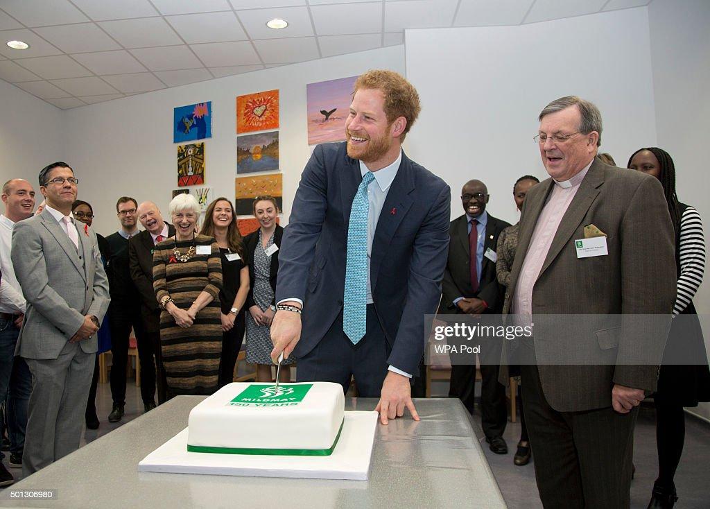 Prince Harry visit to Mildmay Hospital : News Photo