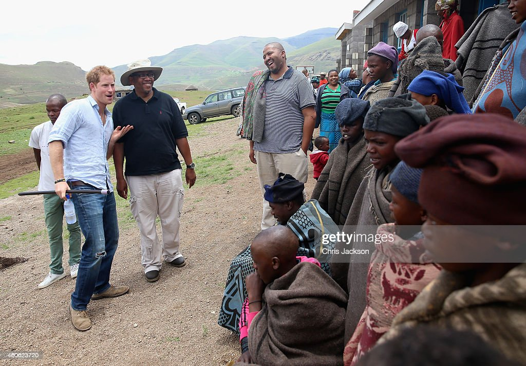 Prince Harry In Lesotho With his Charity Sentebale