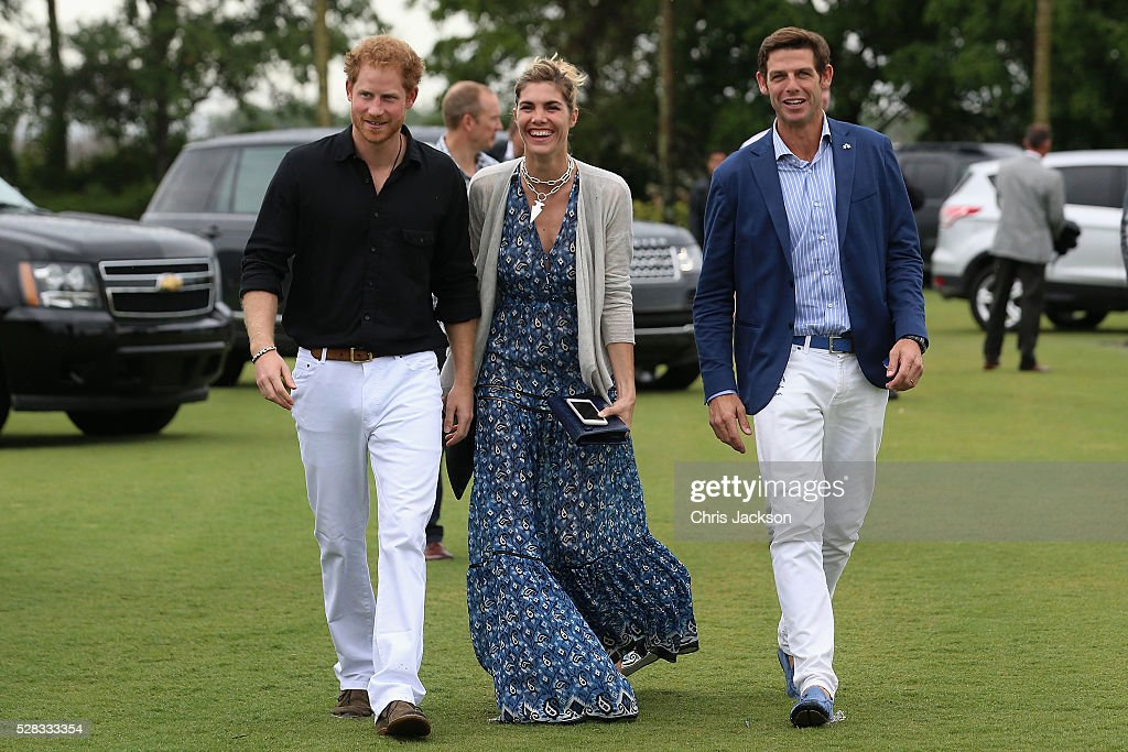 Sentebale Royal Salute Polo Cup In Palm Beach With Prince Harry - Red Carpet : News Photo