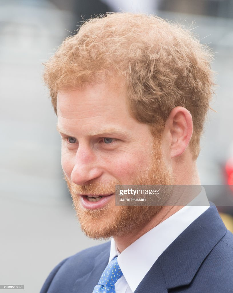 Prince Harry departs Westminster Abbey during a State visit by the King and Queen of Spain on July 13, 2017 in London, England. This is the first state visit by the current King Felipe and Queen Letizia, the last being in 1986 with King Juan Carlos and Queen Sofia.