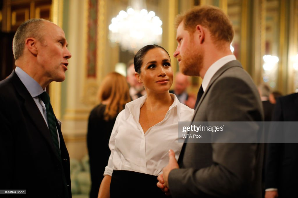 The Duke & Duchess Of Sussex Attend The Endeavour Fund Awards : News Photo