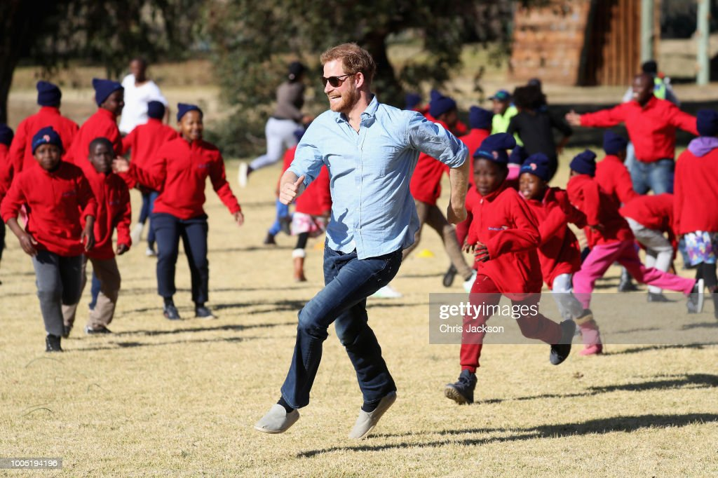 Sentebale Donor Trip, Lesotho 2018 : News Photo