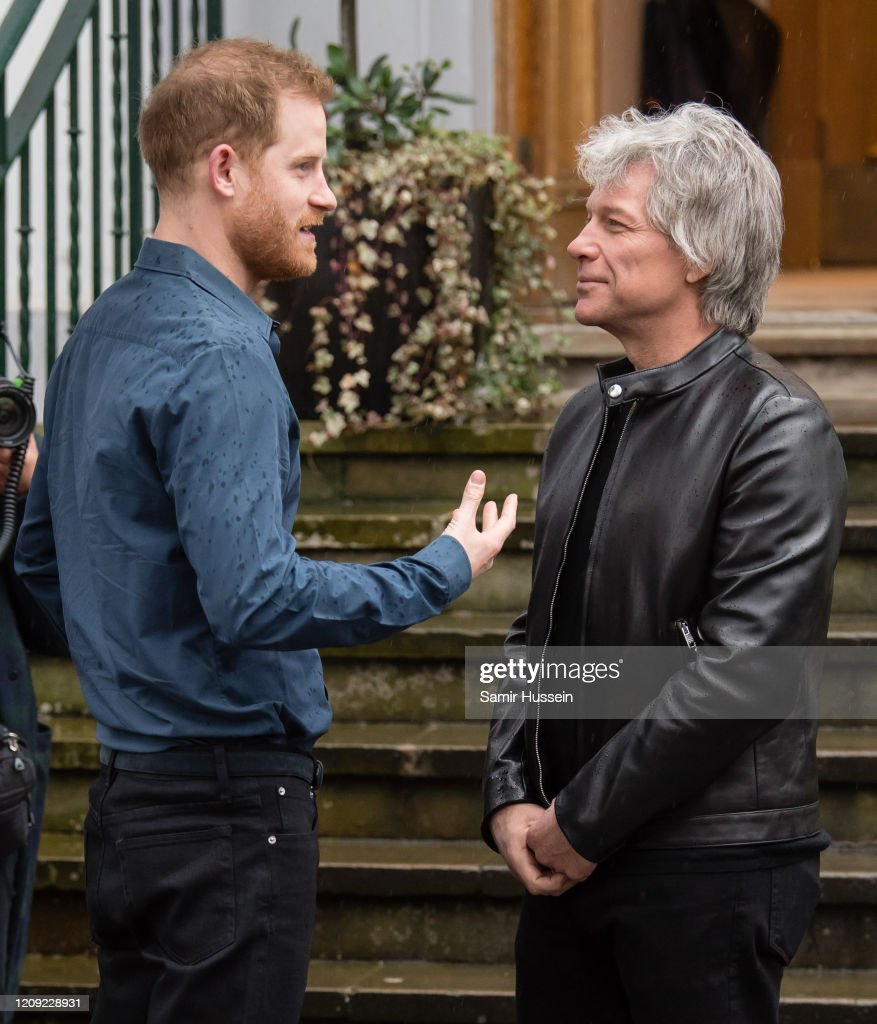 The Duke Of Sussex Visits Abbey Road Studios : News Photo