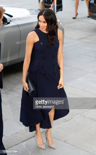Prince Harry Duke of Sussex and Meghan Duchess of Sussex arrive at Auckland War Memorial Museum for reception with Prime Minister Jacinda Ardern's on...