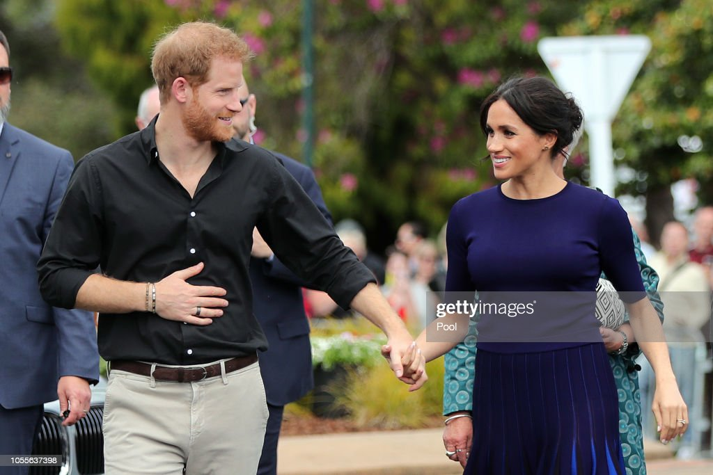 The Duke And Duchess Of Sussex Visit New Zealand - Day 4 : News Photo