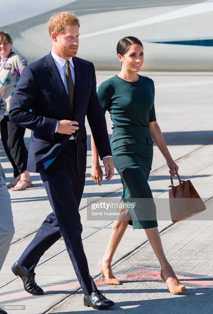 The Duke And Duchess Of Sussex Visit Ireland : Nachrichtenfoto