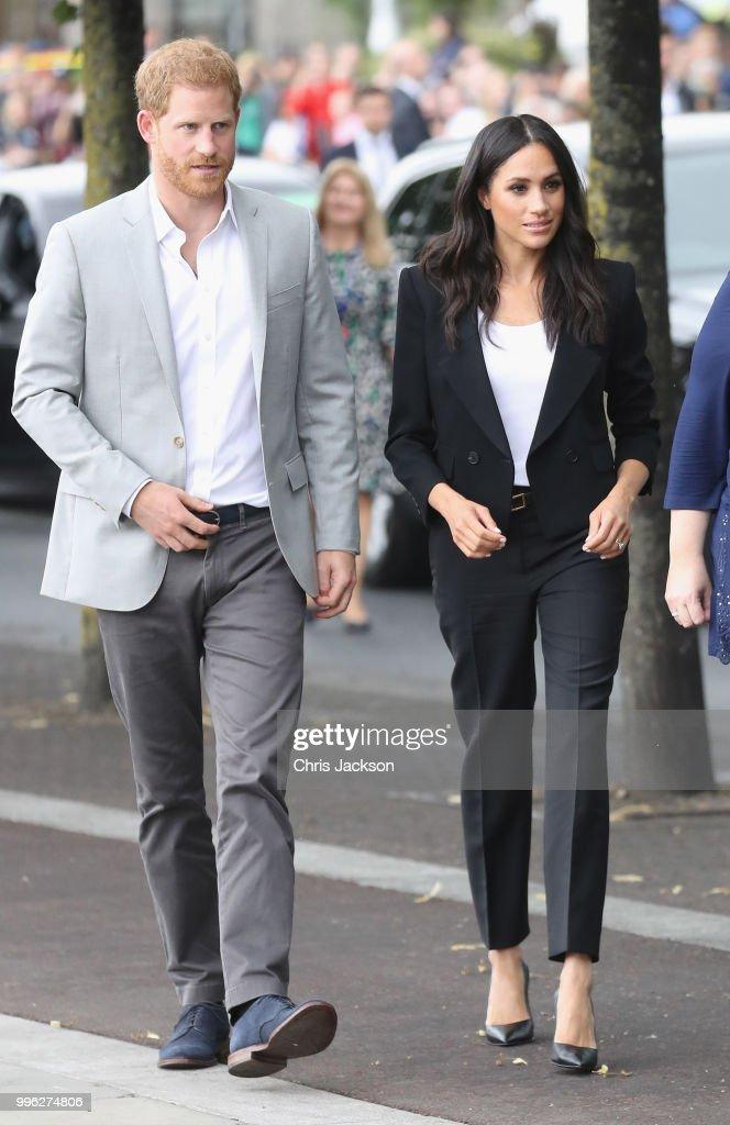 The Duke And Duchess Of Sussex Visit Ireland : News Photo