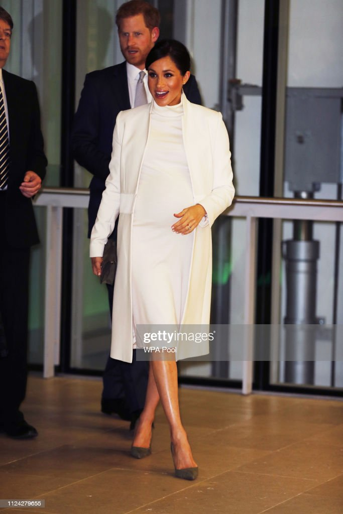 """The Duke And Duchess Of Sussex Attend A Gala Performance Of """"The Wider Earth"""" : News Photo"""