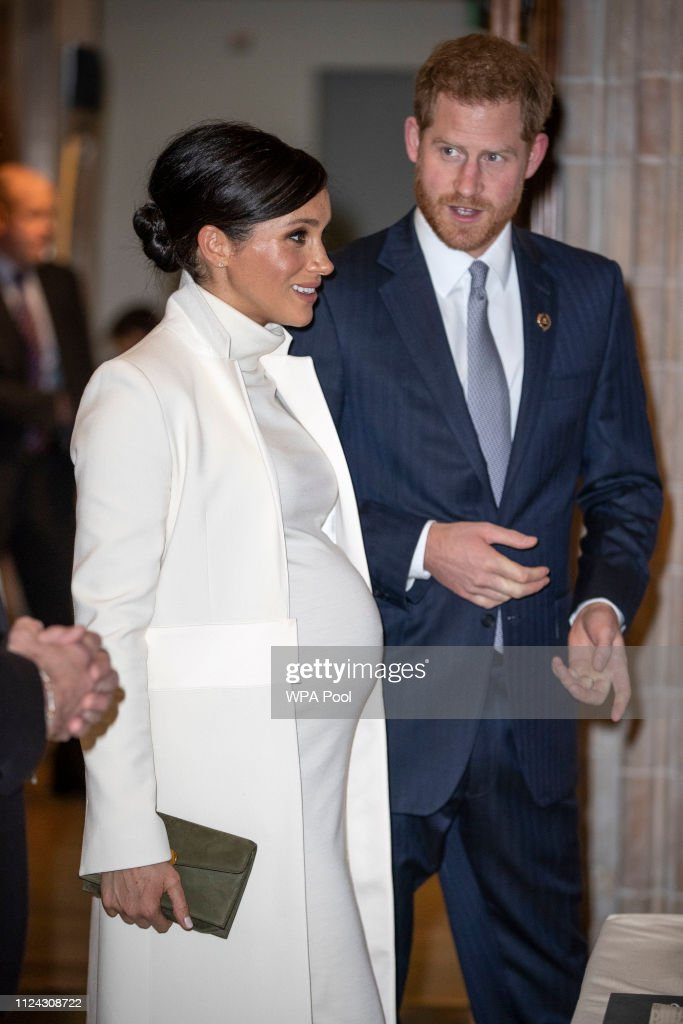 The Duke And Duchess Of Sussex Attend A Gala Performance Of 'The Wider Earth' : News Photo