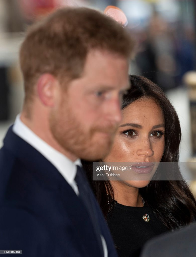 GBR: The Duke And Duchess Of Sussex Sign A Book Of Condolence At New Zealand House