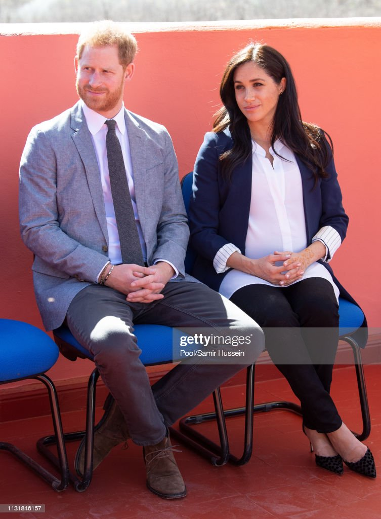 The Duke And Duchess Of Sussex Visit Morocco : News Photo