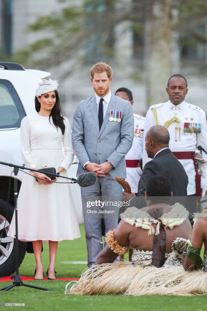 The Duke And Duchess Of Sussex Visit Fiji - Day 1 : News Photo