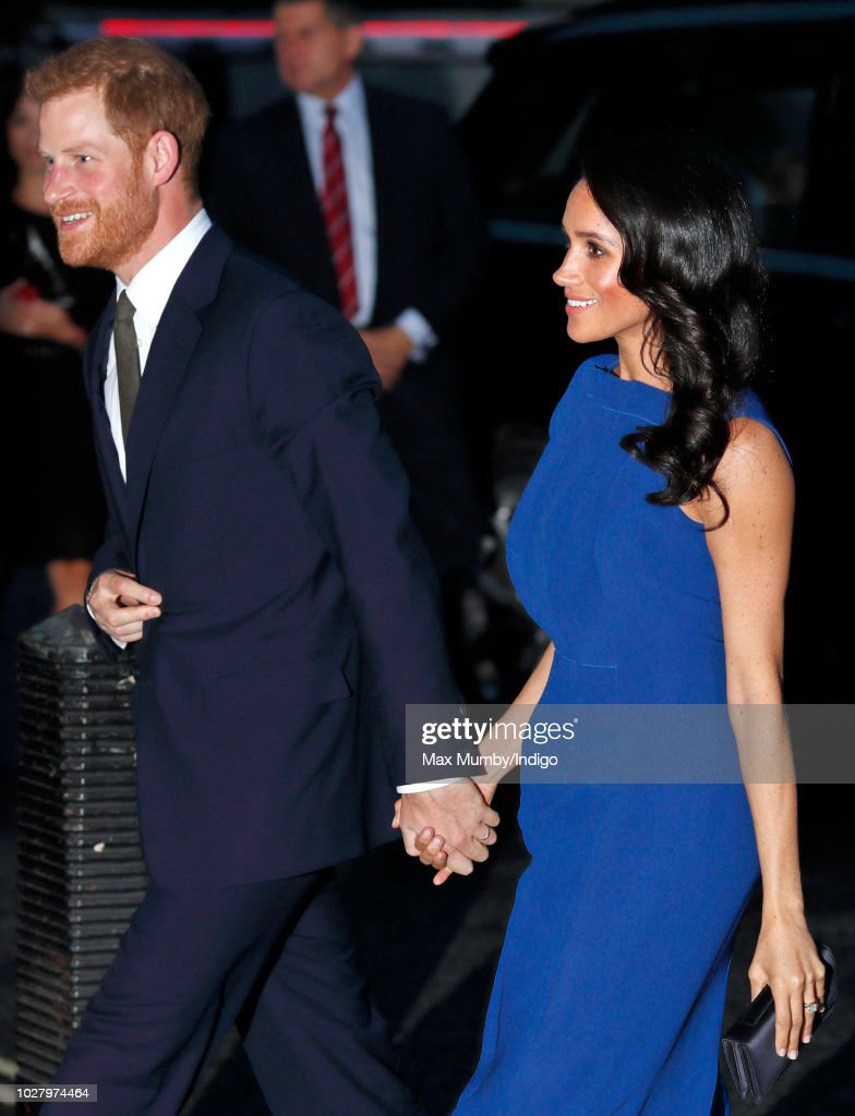 """The Duke & Duchess Of Sussex Attend """"100 Days Of Peace"""" Commemorative Concert : News Photo"""