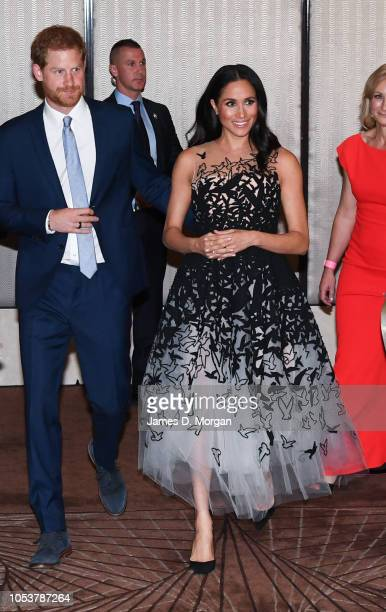 Prince Harry Duke of Sussex and Meghan Duchess of Sussex attend the Australian Geographic Society Awards for excellence in adventure and conservation...