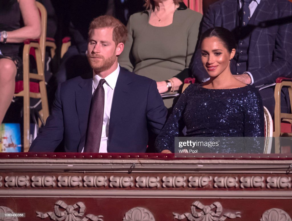 """The Duke And Duchess Of Sussex Attend The Cirque du Soleil Premiere Of """"TOTEM"""" In Support Of Sentebale : News Photo"""