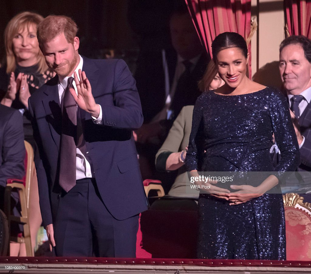 The Duke And Duchess Of Sussex Attend The Cirque du Soleil Premiere Of 'TOTEM' In Support Of Sentebale : News Photo
