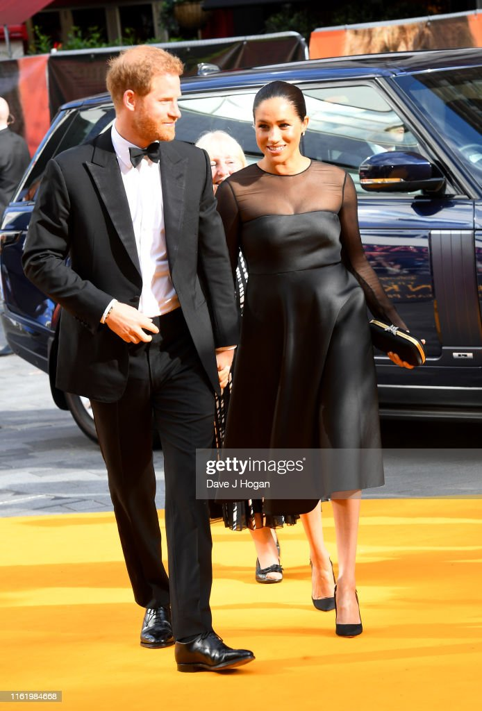 """The Lion King"" European Premiere - VIP Arrivals : News Photo"