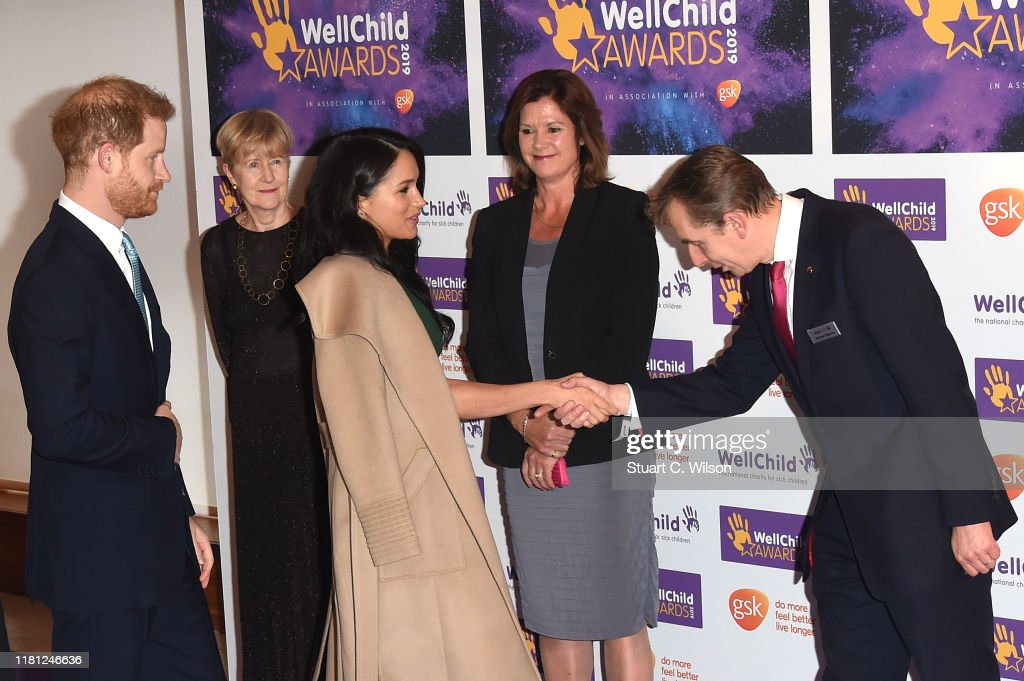 The Duke And Duchess Of Sussex Attend WellChild Awards : ニュース写真