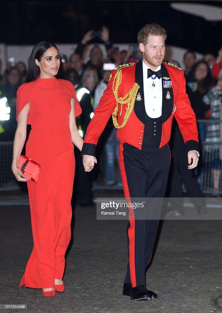 The Duke And Duchess Of Sussex Attend Mountbatten Music Festival : Foto di attualità