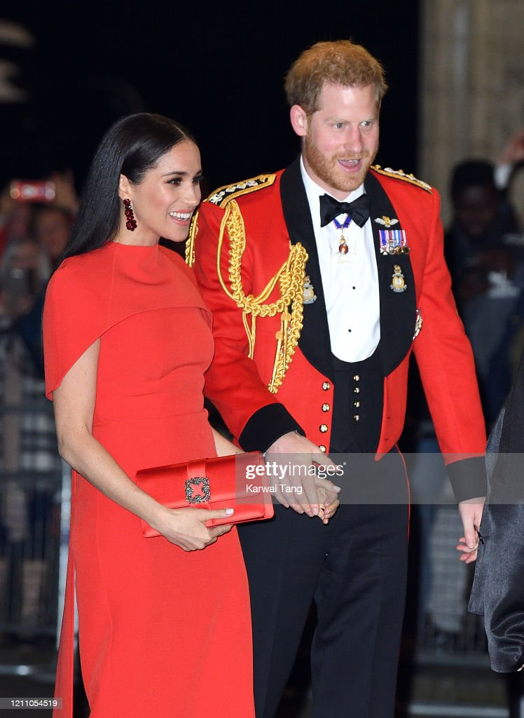 The Duke And Duchess Of Sussex Attend Mountbatten Music Festival : Foto di attualità