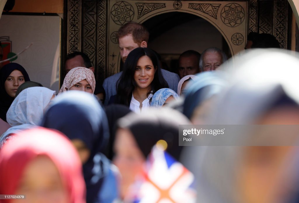The Duke And Duchess Of Sussex Visit Morocco : Nieuwsfoto's