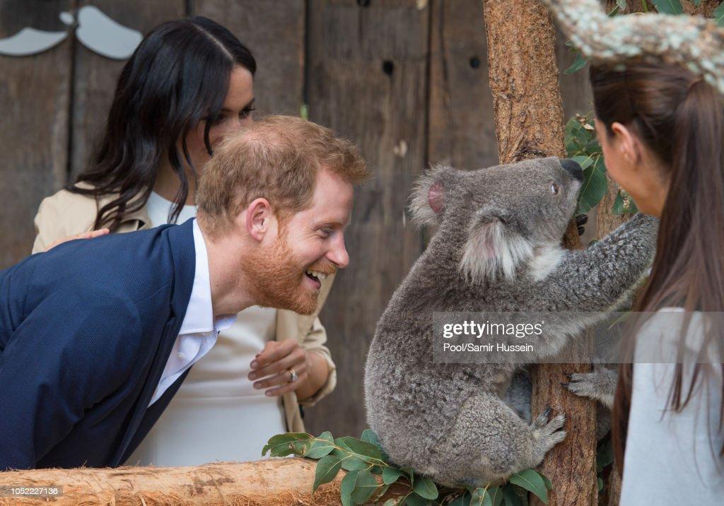 The Duke And Duchess Of Sussex Visit Australia - Day 1 : News Photo