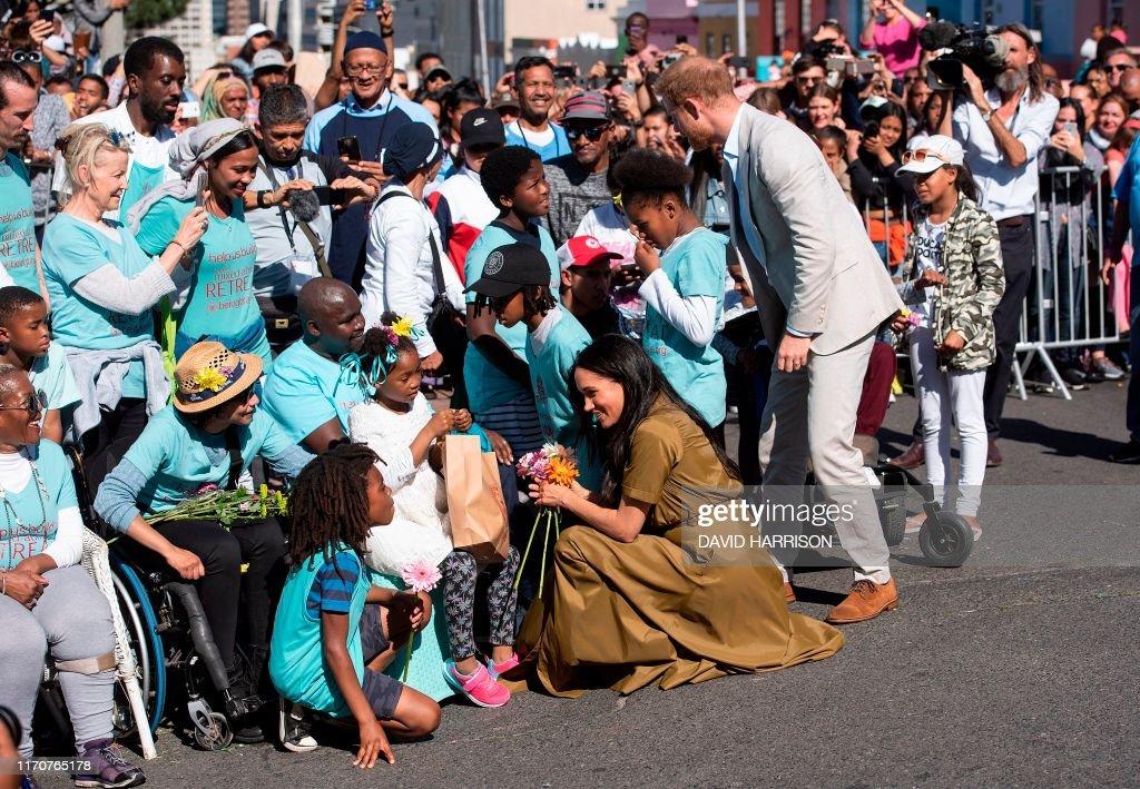 SAFRICA-BRITAIN-ROYALS : News Photo