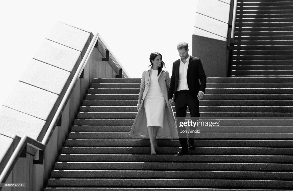 The Duke And Duchess Of Sussex Visit Australia - Day 1 : News Photo