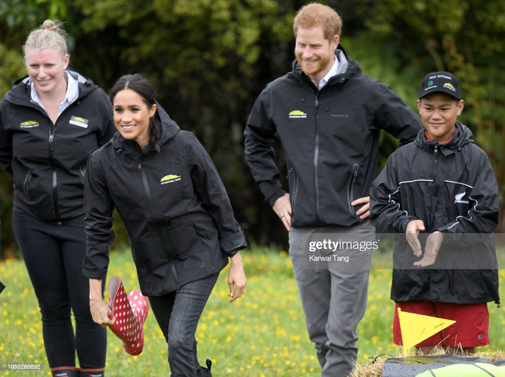 The Duke And Duchess Of Sussex Visit New Zealand - Day 3 : News Photo