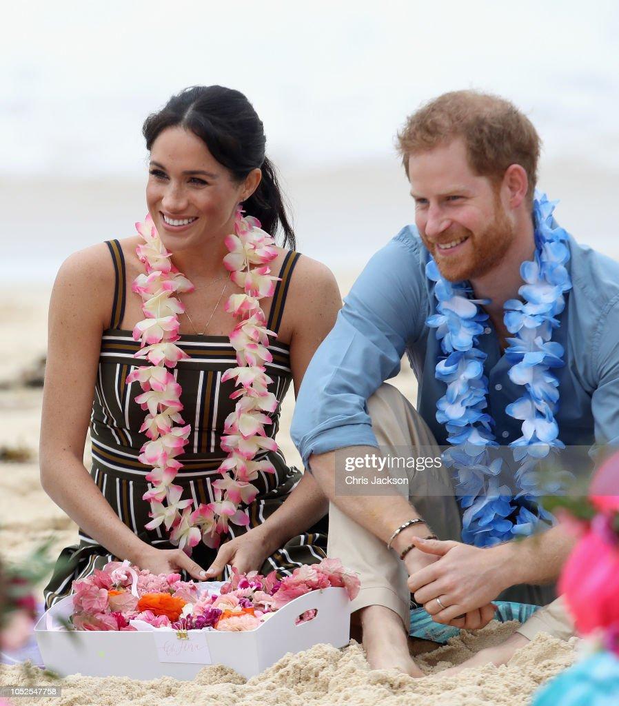 The Duke And Duchess Of Sussex Visit Australia - Day 4 : Nachrichtenfoto