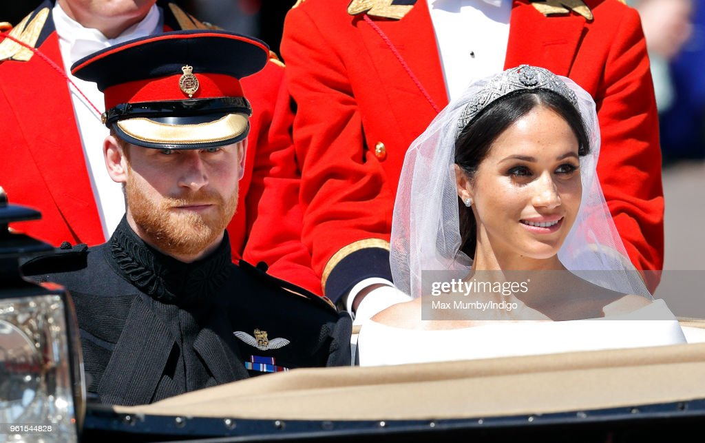 Prince Harry Marries Ms. Meghan Markle - Windsor Castle : ニュース写真