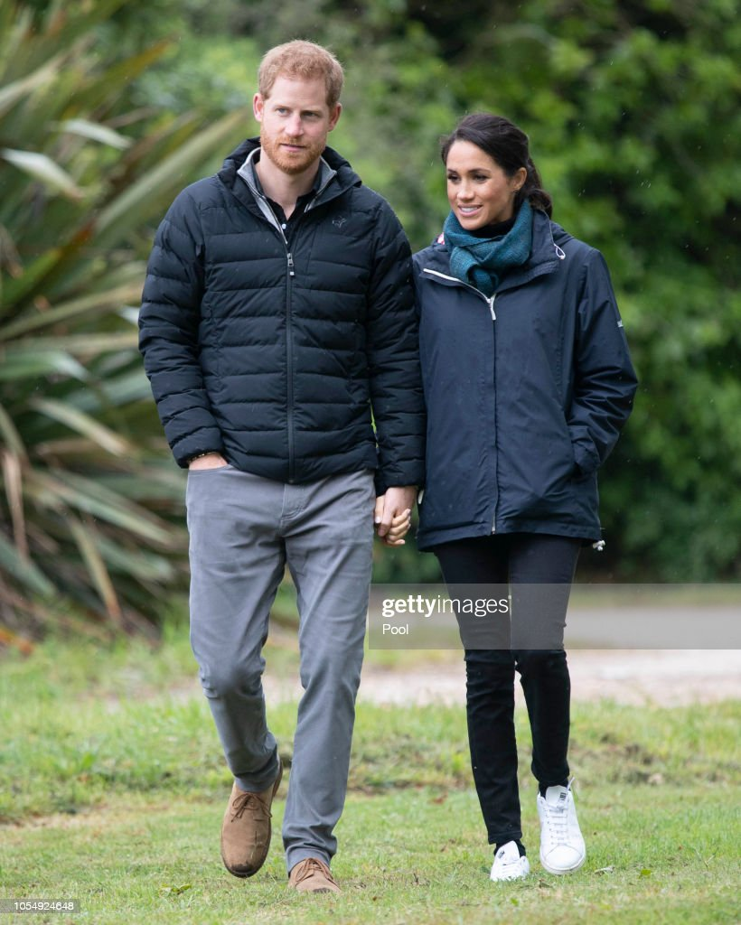 The Duke And Duchess Of Sussex Visit New Zealand - Day 2 : News Photo