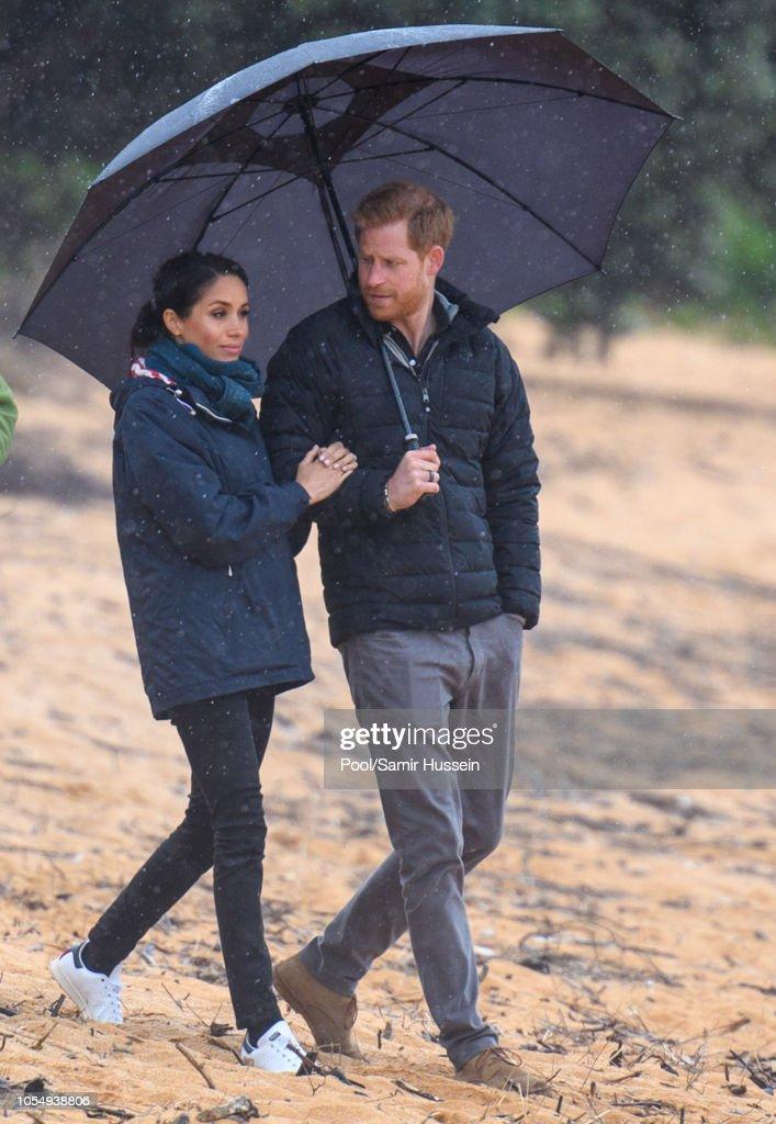 The Duke And Duchess Of Sussex Visit New Zealand - Day 2 : Nachrichtenfoto