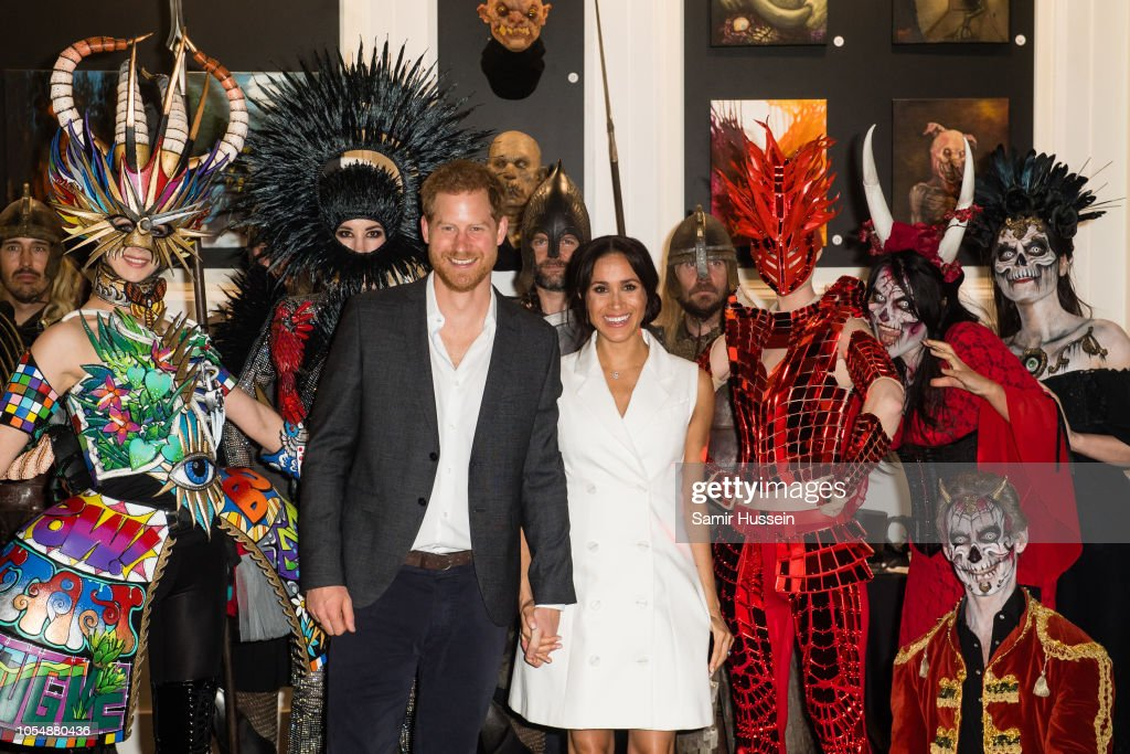 The Duke And Duchess Of Sussex Visit New Zealand - Day 2 : ニュース写真