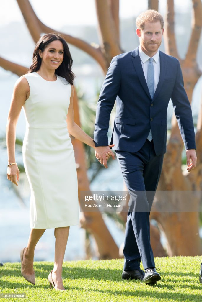 The Duke And Duchess Of Sussex Visit Australia - Day 1 : Foto jornalística