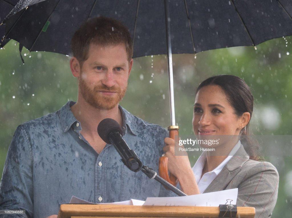 The Duke And Duchess Of Sussex Visit Australia - Day 2 : News Photo