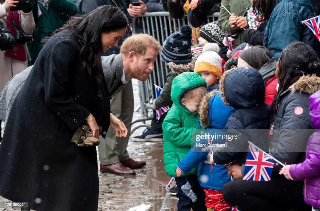 The Duke And Duchess Of Sussex Visit Bristol : News Photo