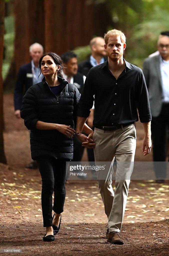 The Duke And Duchess Of Sussex Visit New Zealand - Day 4 : Nachrichtenfoto