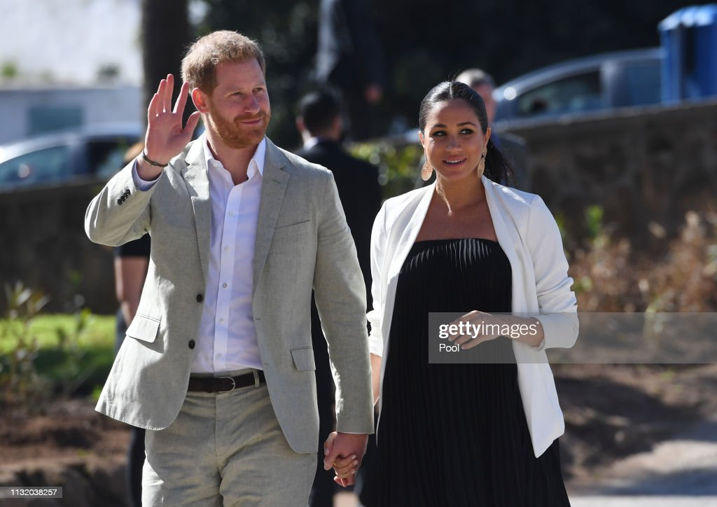The Duke And Duchess Of Sussex Visit Morocco : ニュース写真
