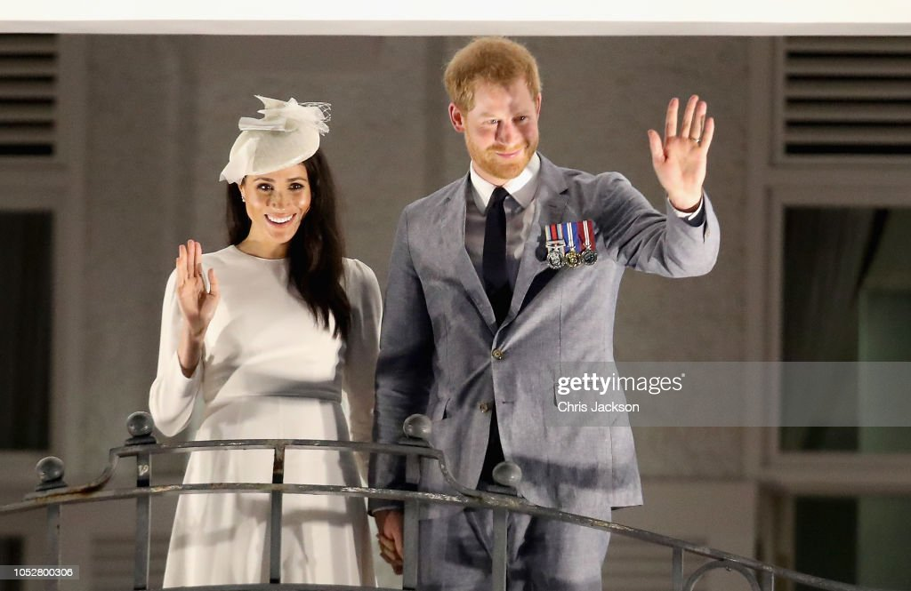 The Duke And Duchess Of Sussex Visit Fiji - Day 1 : ニュース写真